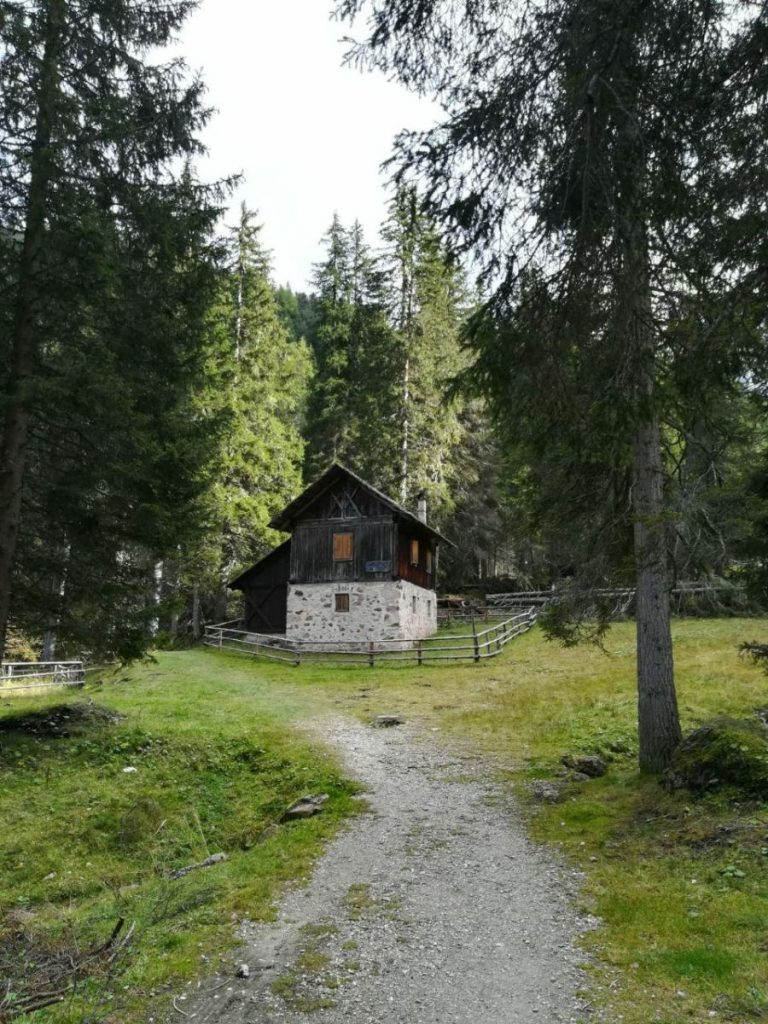 Hut above Zanseralm